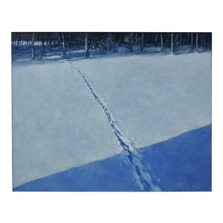 Stephen Remick Path in Snow Painting For Sale
