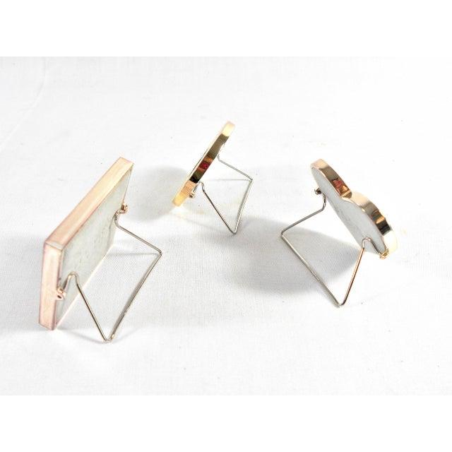 Three Mini Diamond Photo Frames by Milano Series - Image 9 of 9
