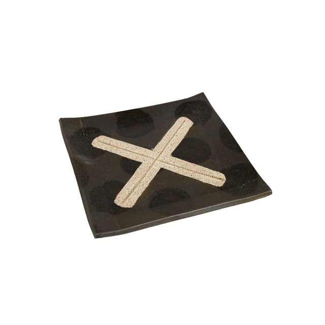 Contemporary X Platter by Matthew Ward For Sale - Image 4 of 4