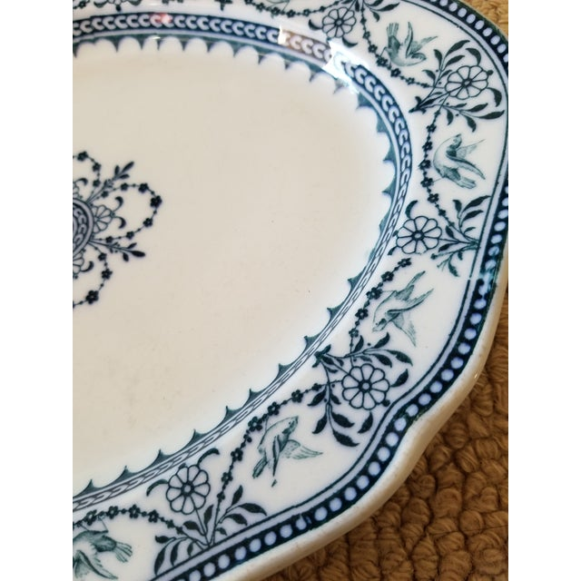 "1900 - 1909 Set of Three Wedgwood ""Raphael"" Platters For Sale - Image 5 of 7"