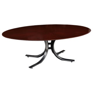 Osvaldo Borsani for Stow Davis Oval Dining Conference Table For Sale