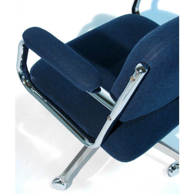 Chromcraft Rolling Swivel Armchairs - A Pair - Image 3 of 9