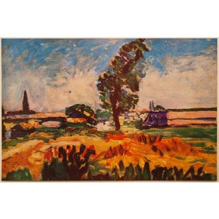 """1940s Henri Matisse """"Toulouse Landscape"""", First Edition Swiss Lithograph For Sale"""