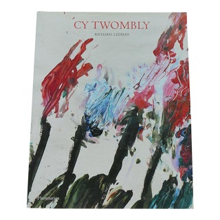 Cy Twombly a Monograph-Leeman Hardcover Book For Sale