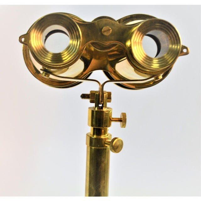 Bungalow 5 Niels Brass Binoculars With Stand For Sale In Las Vegas - Image 6 of 9