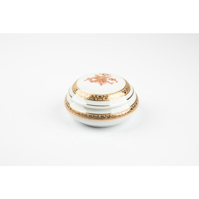 Vintage Limoges France Little Jewelry or Pill Box For Sale - Image 9 of 9