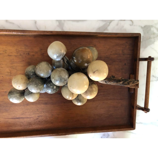 Vintage Alabaster Large Grape Cluster Made in Italy For Sale In Chicago - Image 6 of 10