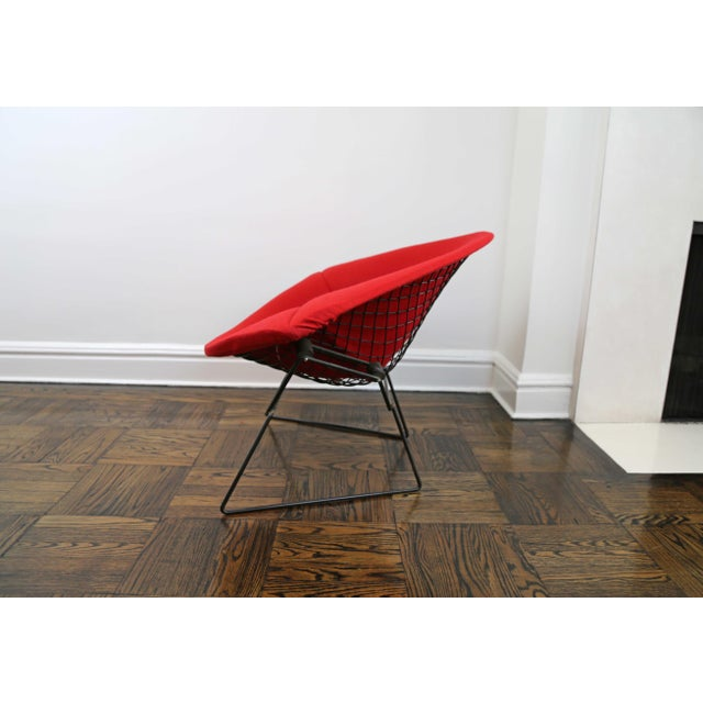 Knoll Mid-Century Modern Harry Bertoia for Knoll Diamond Chair For Sale - Image 4 of 8