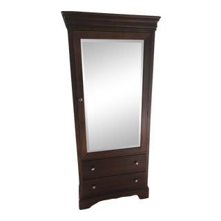 Stanley Furniture Armoire With Mirror For Sale