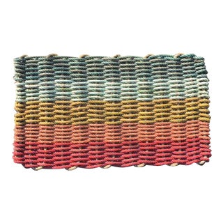 Recycled Lobster Rope Doormat - 1′7″ × 2′10″