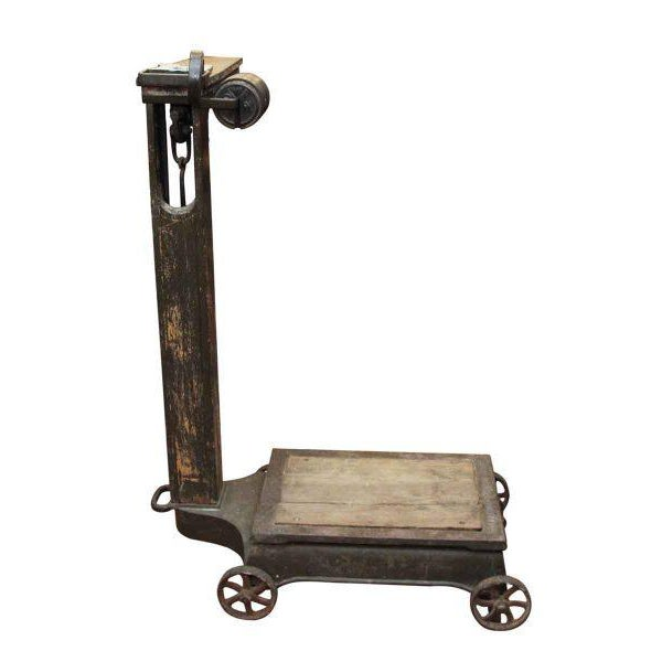 Antique Fairbanks Platform Scale - Image 7 of 9