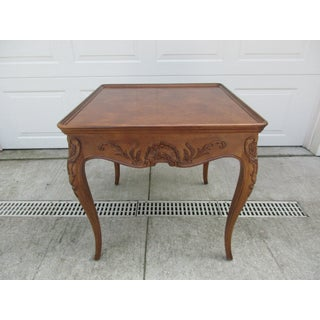 Vintage Mid Century French Game or Side Table Preview