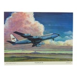"Image of Original Best of Hubbell Aircraft Print ""Presidential Air Lift"" by Charles H. Hubbell, 1970 For Sale"