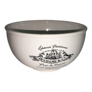 Duchamp & Co. Epicerie Parisienne Porcelain Bowl