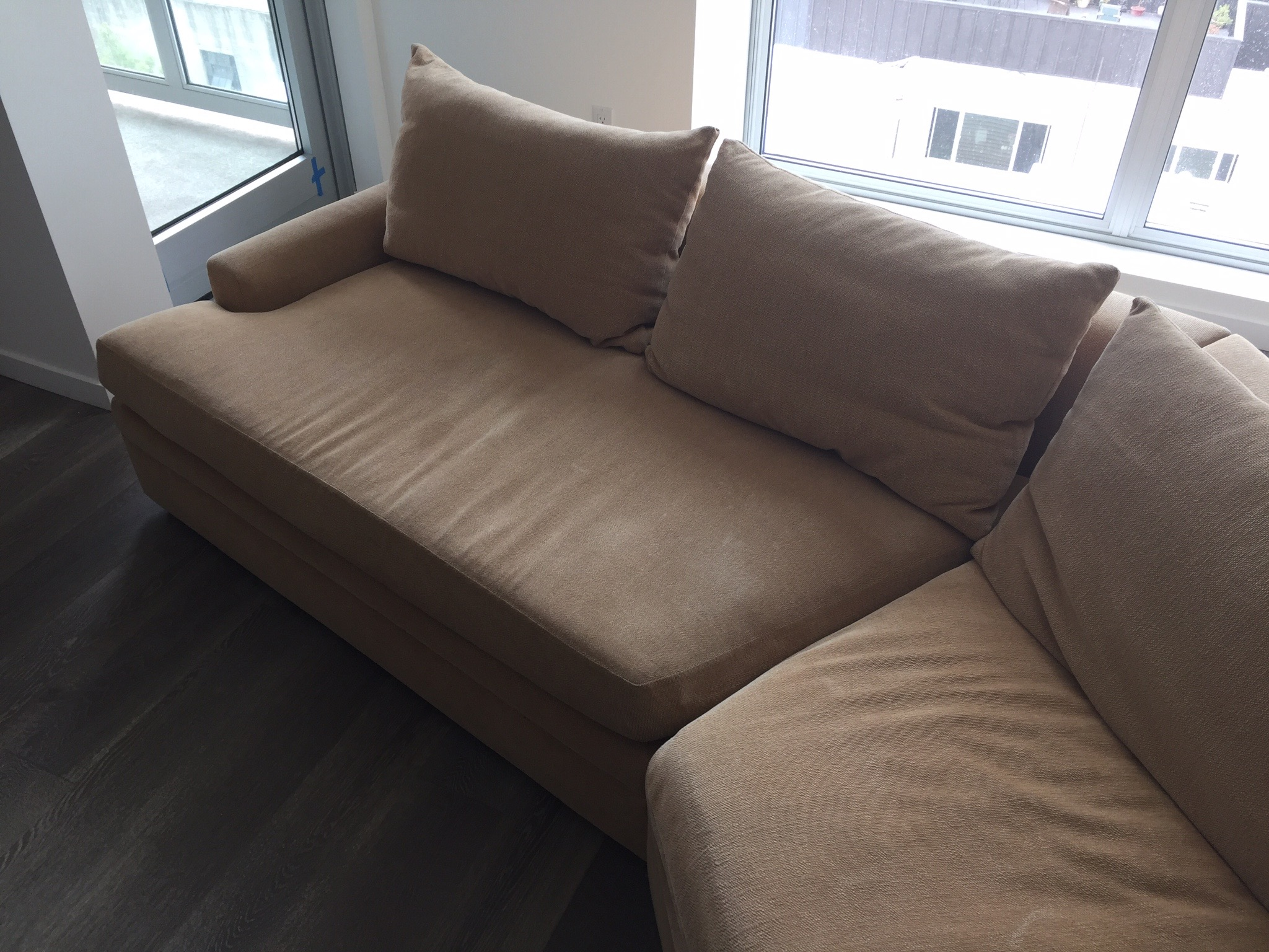 Exceptionnel Contemporary Kroll Furniture Custom Sofa Sectional For Sale   Image 3 Of 10