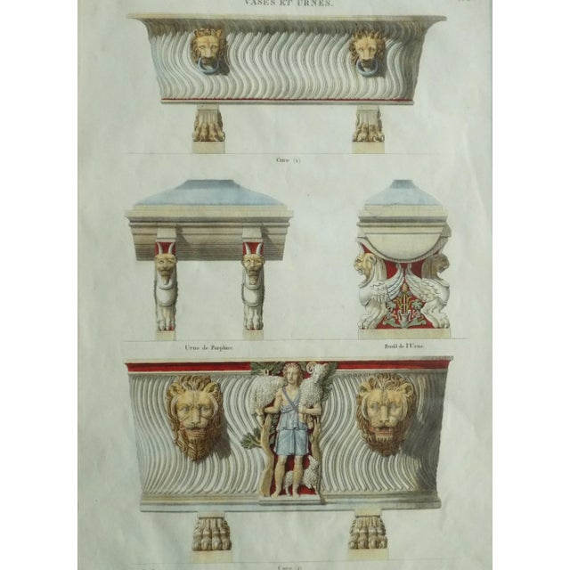 Metal Mid 18th Century Antique Bouillion Italian Vases Print For Sale - Image 7 of 10