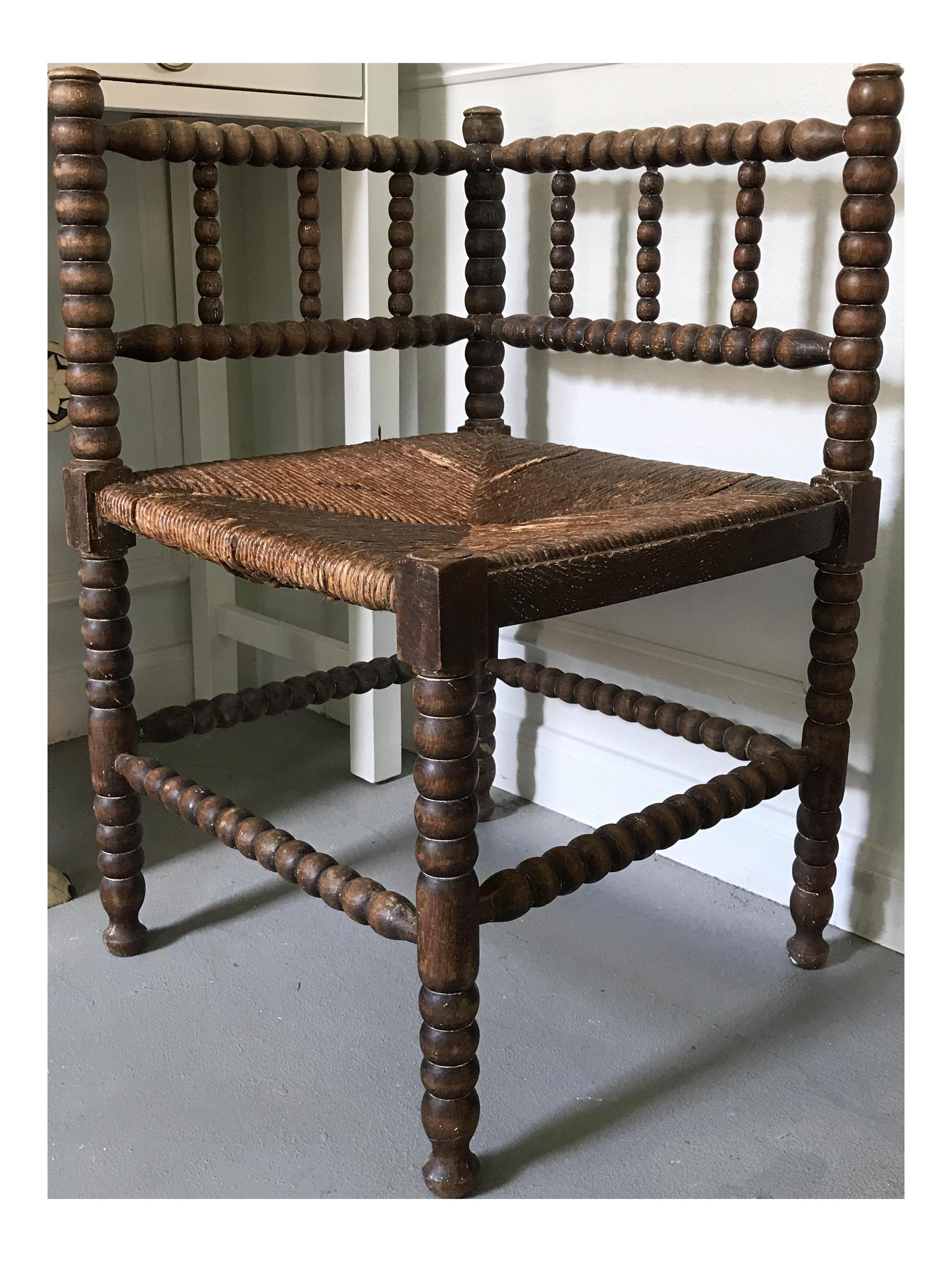 Antique Corner Spindle Chair  sc 1 st  Chairish & Antique Corner Spindle Chair | Chairish