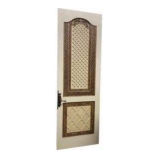 Tunisian/Moroccan Style Interior Door From Lé Belvedere Castle For Sale