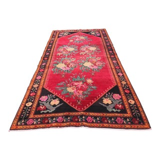 "1950's Vintage Armenian Karabag Rug-4'9'x9'4"" For Sale"