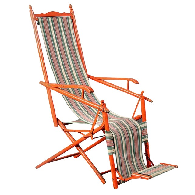 1940s French Outdoor Recliner For Sale