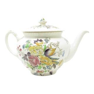 Vintage Johnson Brothers Garden Bouquet Teapot For Sale