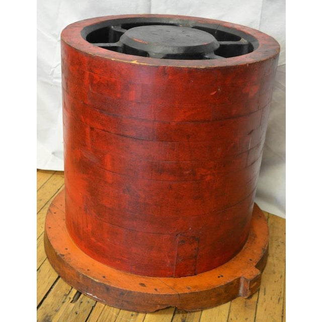 Industrial End Table For Sale - Image 5 of 10