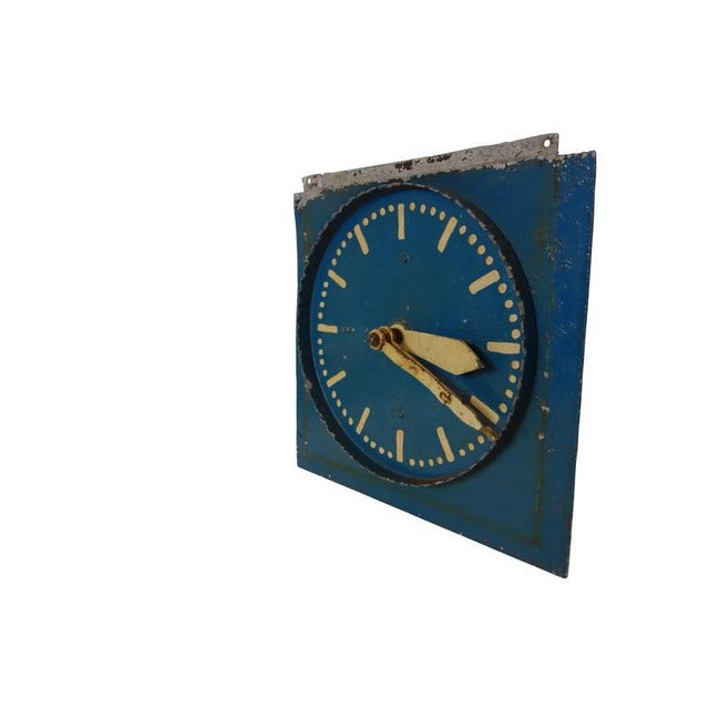 Industrial Double-Sided Clock Teaching Aid For Sale - Image 3 of 9