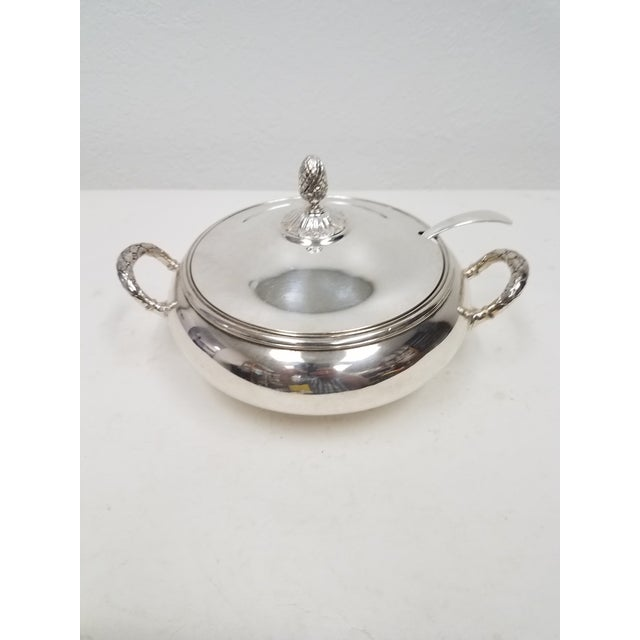 Antique English Silver Plate Elkington Server For Sale - Image 11 of 11