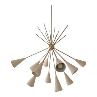 Studio Machina for Blueprint Lighting 2017 Grand Bouquet Chandelier For Sale