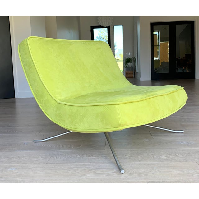 Contemporary Ligne Roset Pop Chair and Ottoman by Christian Werner For Sale - Image 3 of 9