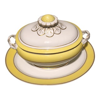 Mottahedeh Vista Allegra Holiday Tureen With Platter For Sale
