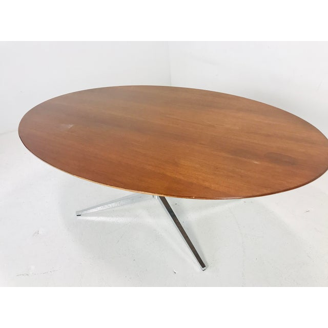 Mid-Century Modern Florence Knoll Dining Table/Desk/Conference Table For Sale - Image 3 of 8