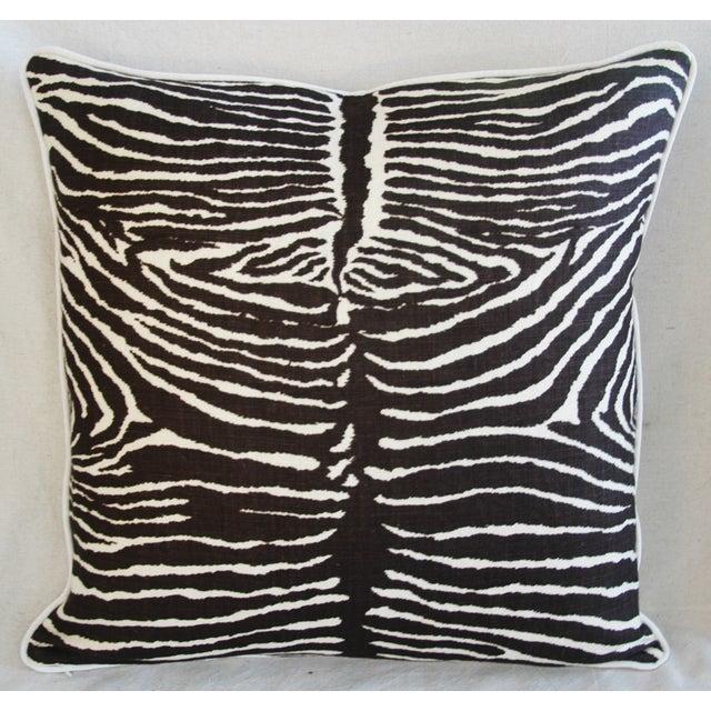 Brunschwig Fils Zebra Pillows - a Pair - Image 4 of 11