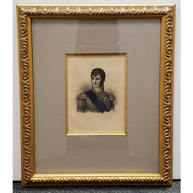 Late 19th Century Circa 1880 French Jerome Bonaparte Portrait Photo-Etching After Engraving by William Read For Sale - Image 5 of 5