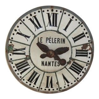 Antique French Village Tower Clock For Sale
