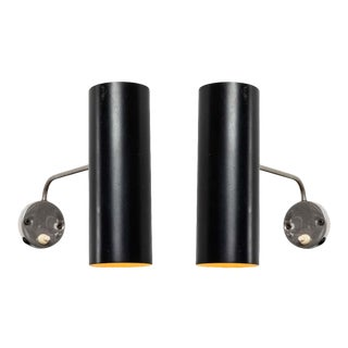 1960s Tito Agnoli Wall Lights for O-Luce - a Pair For Sale