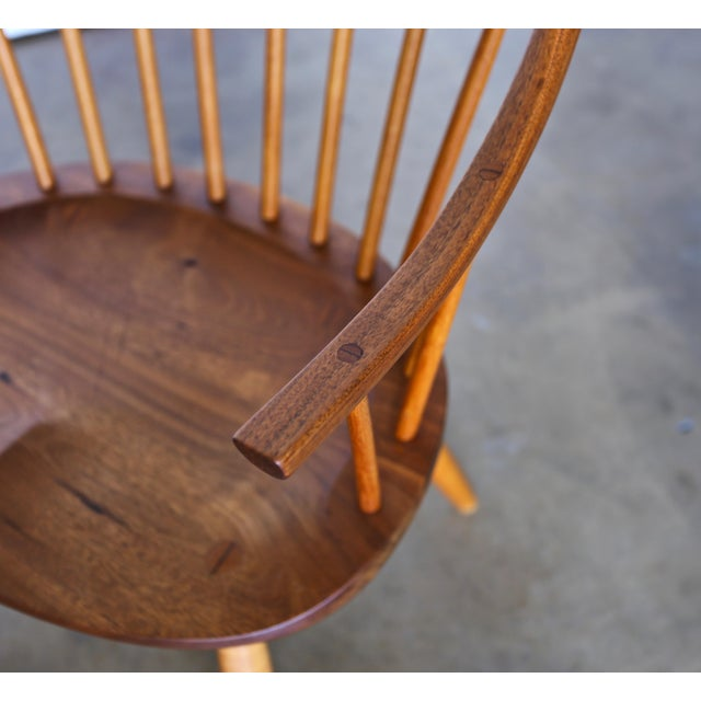 Mid 20th Century Mid Century John Onstine Handcrafted Continuous Armchair For Sale - Image 5 of 10