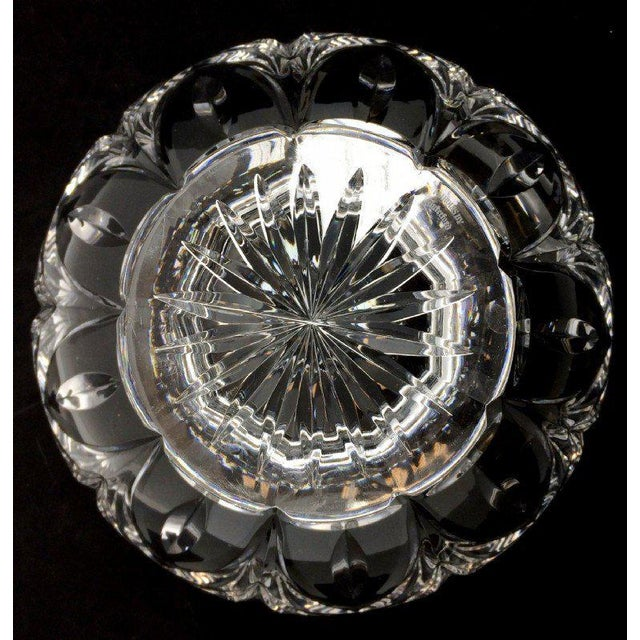 Stunning, beautiful Waterford crystal bowl from the Marquis collection, Canterbury pattern. Very rare tall bowl. Excellent...