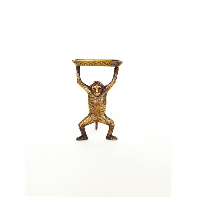 Vintage Brass Monkey Dish - Image 2 of 5