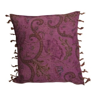Cotton Kantha Pillow