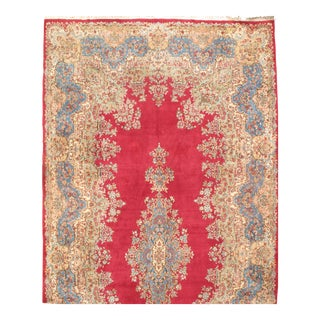 "Pasargad NY Antique Persian Royal Kerman Hand-Knotted Rug - 10′10"" × 22"""