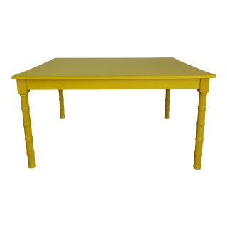 Yellow Coffee Table For Sale