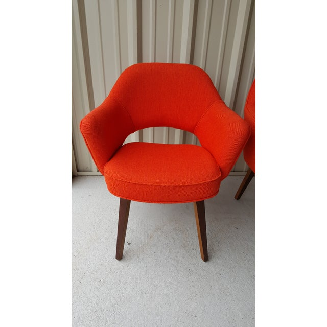 Vintage Saarinen Knoll Exectutive Chairs- a Pair For Sale - Image 6 of 13