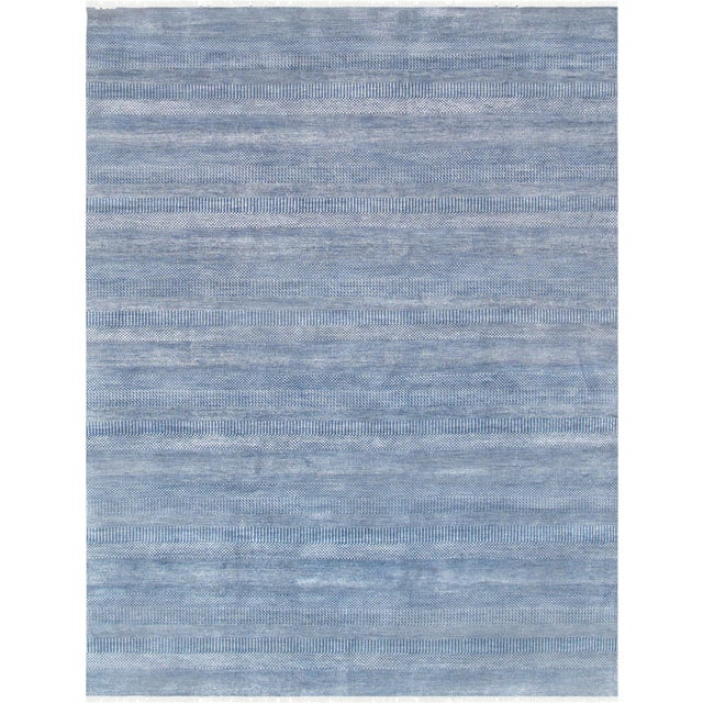 """Pasargad Transitional Silk & Wool Area Rug - 9' 1"""" X 12' 0"""" - Image 1 of 3"""