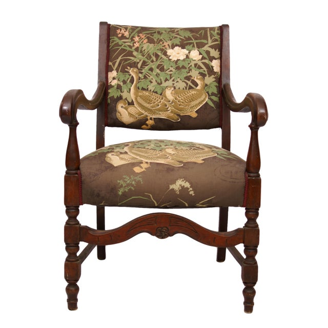 Wild Duck Upholstered Chair - Image 1 of 4