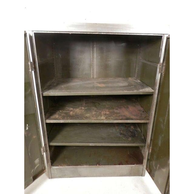 Metal Heavy Duty Industrial Metal Cabinet For Sale - Image 7 of 9