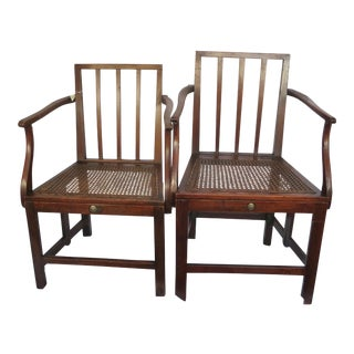 1800's Scottish British Military Campaign Chairs - Each