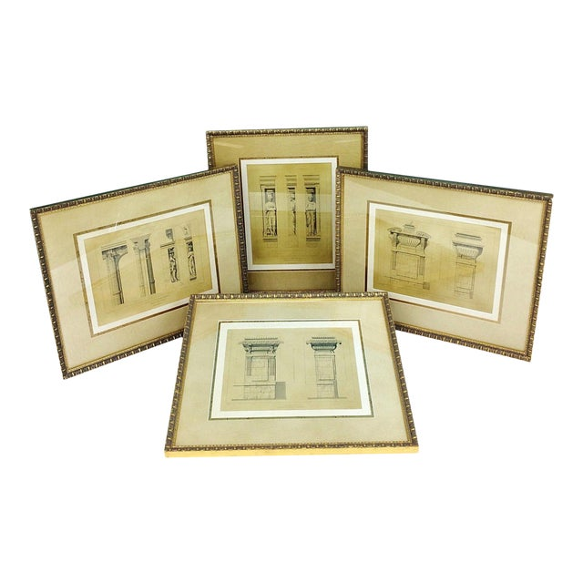 Bombay Company 16th Century French Architecture Prints-Set of 4 ...