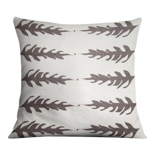 Fern N Dot Stone Pillow For Sale