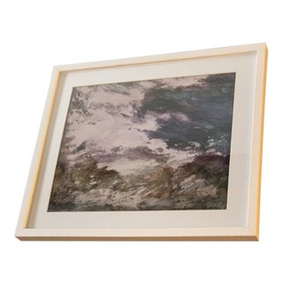 Sharon Gilmore Pastel Etching Print For Sale
